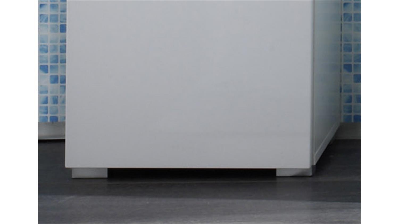 badezimmer hochschrank spice regal in wei hochglanz. Black Bedroom Furniture Sets. Home Design Ideas