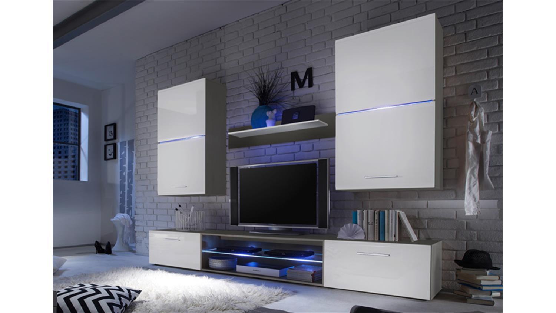 wohnwand enrique 1 alles ber wohndesign und m belideen. Black Bedroom Furniture Sets. Home Design Ideas