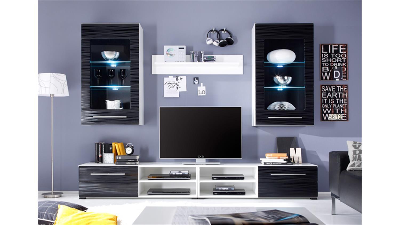 2 sahara in schwarz und weiß mit 3d-folie und led, Hause ideen