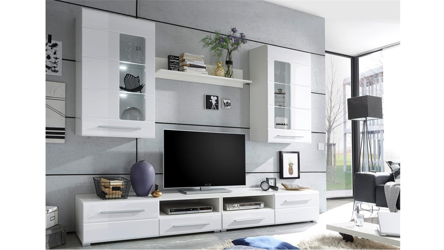 wohnwand enrique alles ber wohndesign und m belideen. Black Bedroom Furniture Sets. Home Design Ideas
