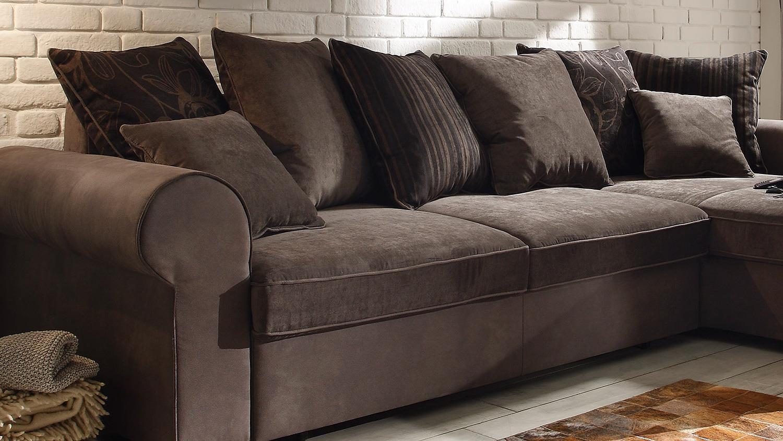 ecksofa canyon wohnlandschaft sofa braun schwarzbraun funktion. Black Bedroom Furniture Sets. Home Design Ideas