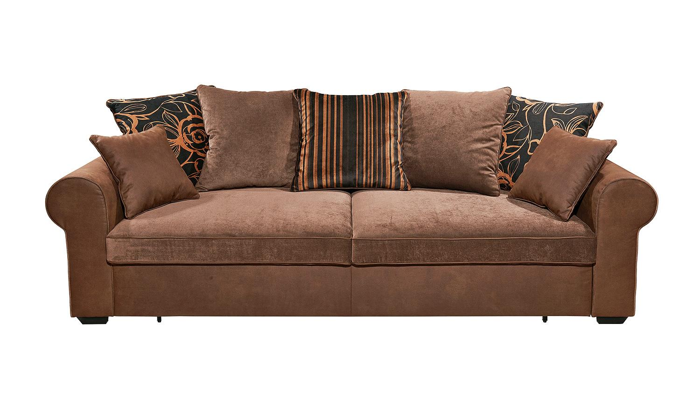 Schlafsofa canyon sofa funktionssofa in kastanien braun 253 for Schlafsofa funktionssofa