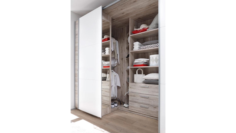 schwebet renschrank big begehbar in sandeiche wei 315 cm. Black Bedroom Furniture Sets. Home Design Ideas