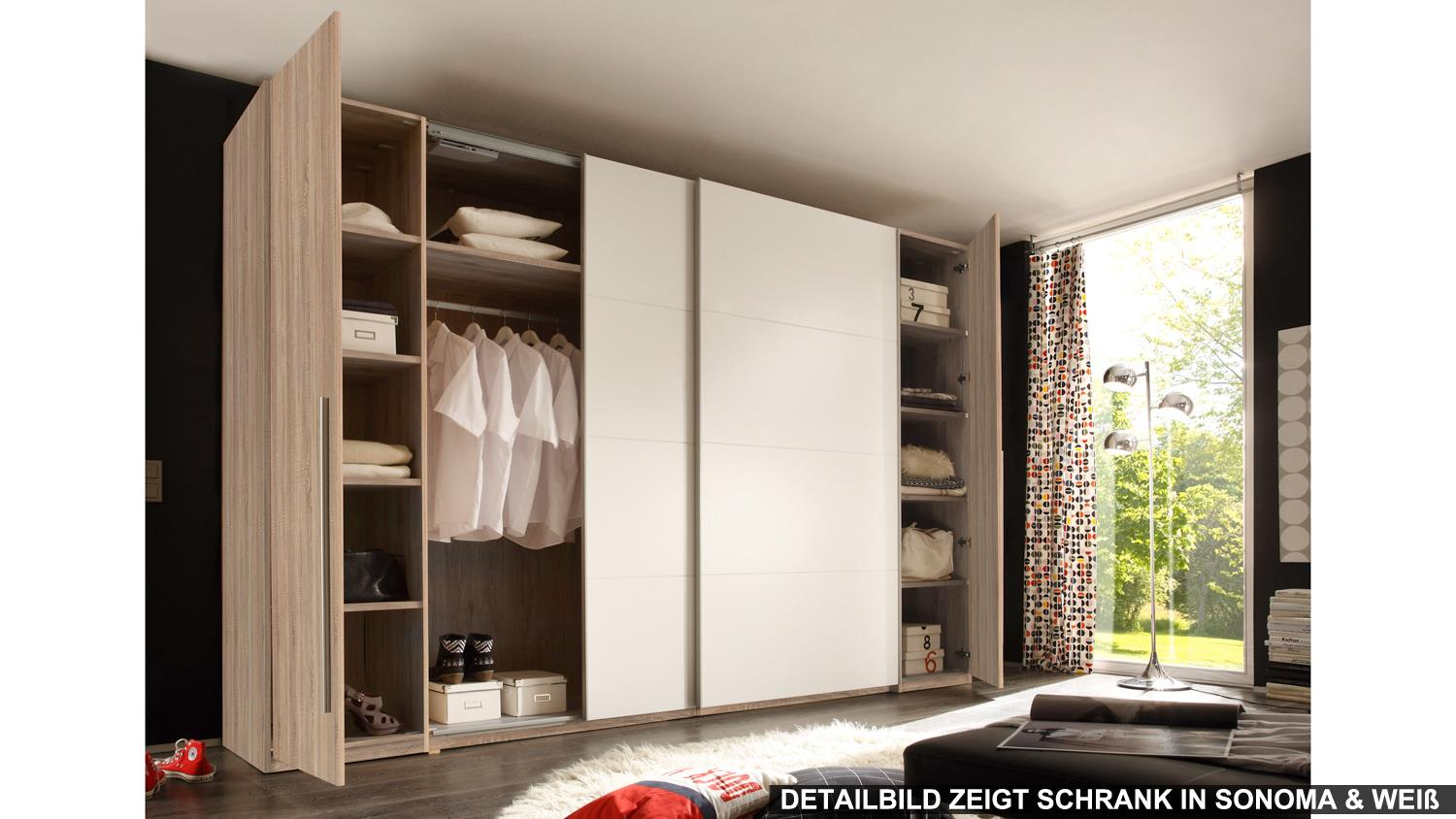 schwebet renschrank match 2 schrank wei mit spiegel 315. Black Bedroom Furniture Sets. Home Design Ideas
