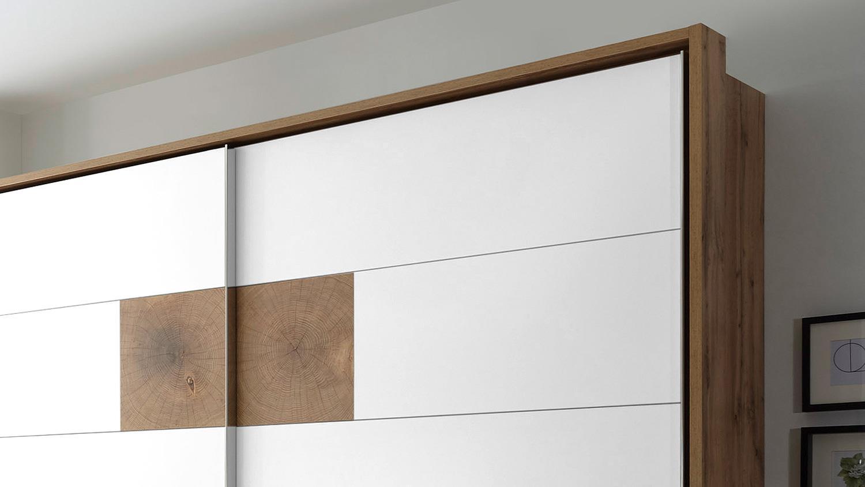 schwebet renschrank capri wildeiche wei hirnholz 270 cm. Black Bedroom Furniture Sets. Home Design Ideas