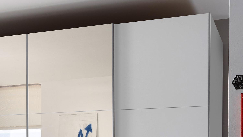 schwebet renschrank big begehbar wei mit spiegel 315 cm. Black Bedroom Furniture Sets. Home Design Ideas
