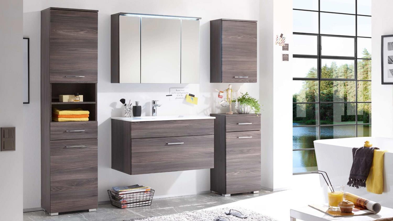 hochschrank seattle badm bel schrank front in sangallo. Black Bedroom Furniture Sets. Home Design Ideas