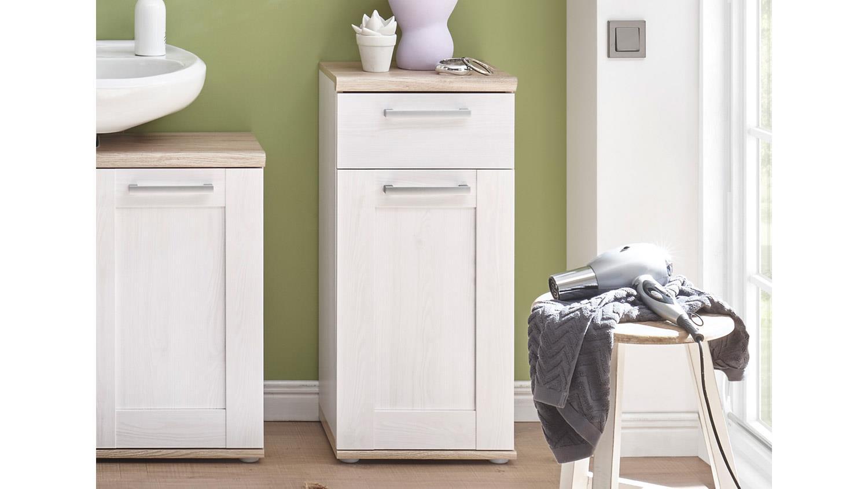 kommode romance badm bel in sibiu l rche und san remo eiche hell. Black Bedroom Furniture Sets. Home Design Ideas