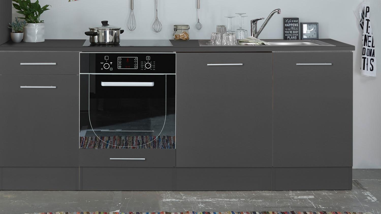 k chenblock pepper 310 k che k chenzeile anthrazit und wei 310x211 cm. Black Bedroom Furniture Sets. Home Design Ideas