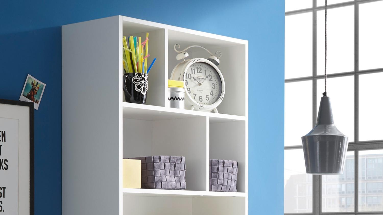Küchentheke STAND Theke inkl. Regal Bartisch Tresentisch Bar in weiß