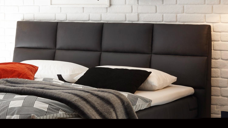 boxspringbett kosali 2 stoff anthrazit 7 zonen ttfk federkern 180x200. Black Bedroom Furniture Sets. Home Design Ideas