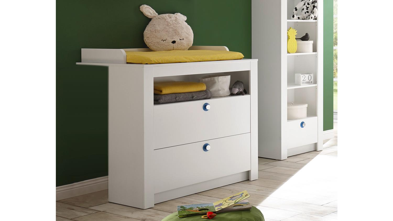 wickelkommode paula kommode inkl aufsatz wickeltisch wei 96x78 cm. Black Bedroom Furniture Sets. Home Design Ideas