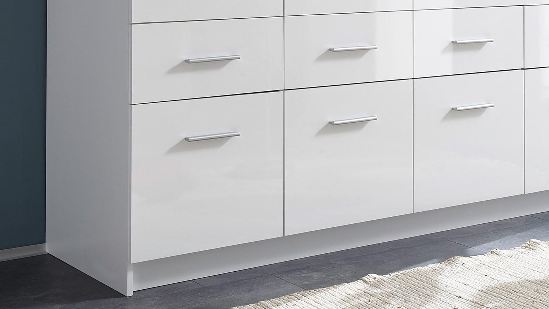 kleiderschrank hagen dreht renschrank 4 t rig wei hochglanz 180 cm. Black Bedroom Furniture Sets. Home Design Ideas