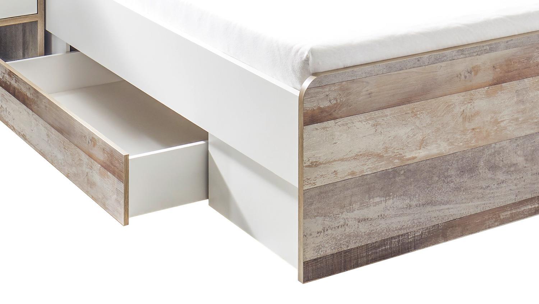 Möbel Wohnen Bettschubkasten 140x200 Cm Jugendbett Moon