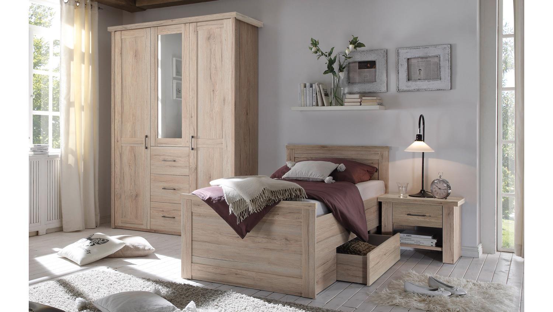 Komfort schlafzimmer luca komfortzimmer eiche san remo spiegel 3 tlg - Schlafzimmer luca ...