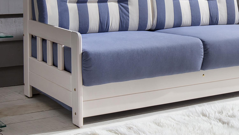 ecksofa campus stoff blau wei inkl liegefunktion 240x165. Black Bedroom Furniture Sets. Home Design Ideas