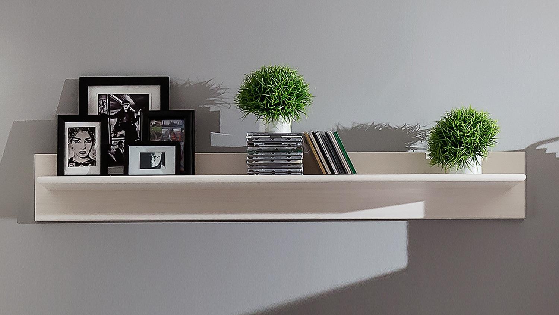 wandboard wei hochglanz ebenbild das wirklich. Black Bedroom Furniture Sets. Home Design Ideas