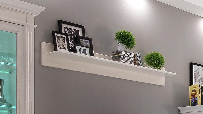 wandboard 1 leona in astfichte massiv wei lasiert. Black Bedroom Furniture Sets. Home Design Ideas