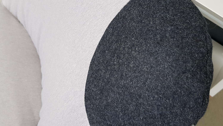 Sessel Pandabär Rolf Benz Freistil 171 Signalgrau Schwarz
