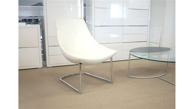 rolf benz clubsessel cl se 582 in leder schwarz und chrom. Black Bedroom Furniture Sets. Home Design Ideas