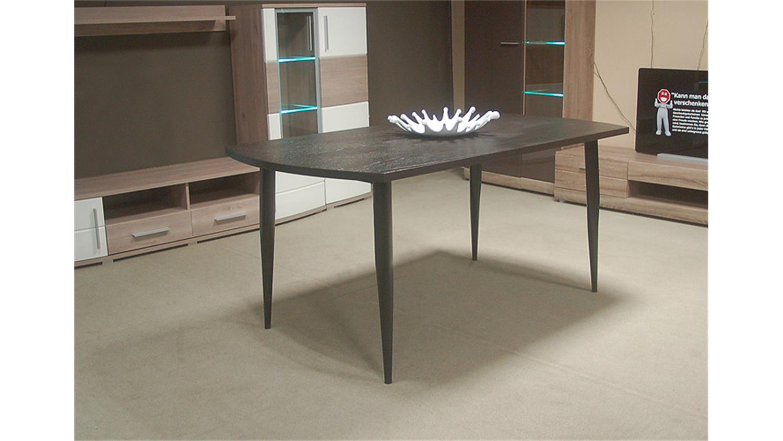 Esstisch schwarz braun design inspiration for Rolf benz esstisch glas
