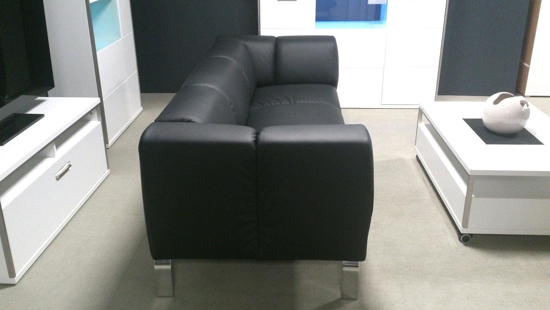 sofa sob 323 rolf benz sofabank leder schwarz. Black Bedroom Furniture Sets. Home Design Ideas