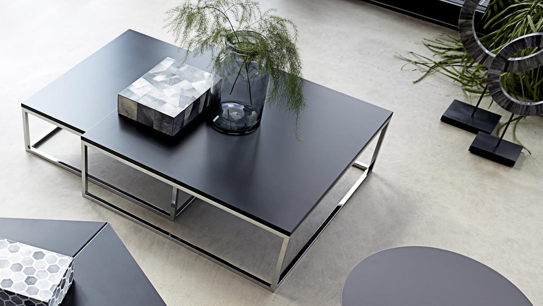 couchtisch molly 30 tisch 2er satztisch schwarz lackiert. Black Bedroom Furniture Sets. Home Design Ideas