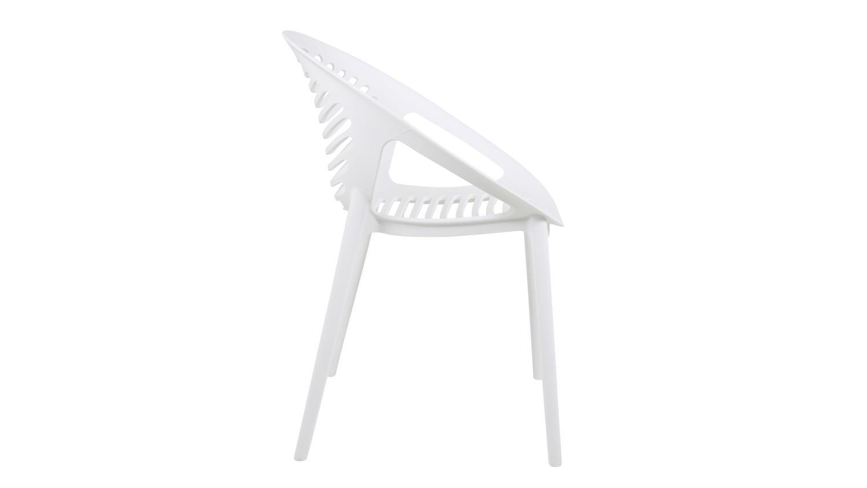 stapelstuhl elements gartenstuhl stuhl in kunststoff wei matt. Black Bedroom Furniture Sets. Home Design Ideas