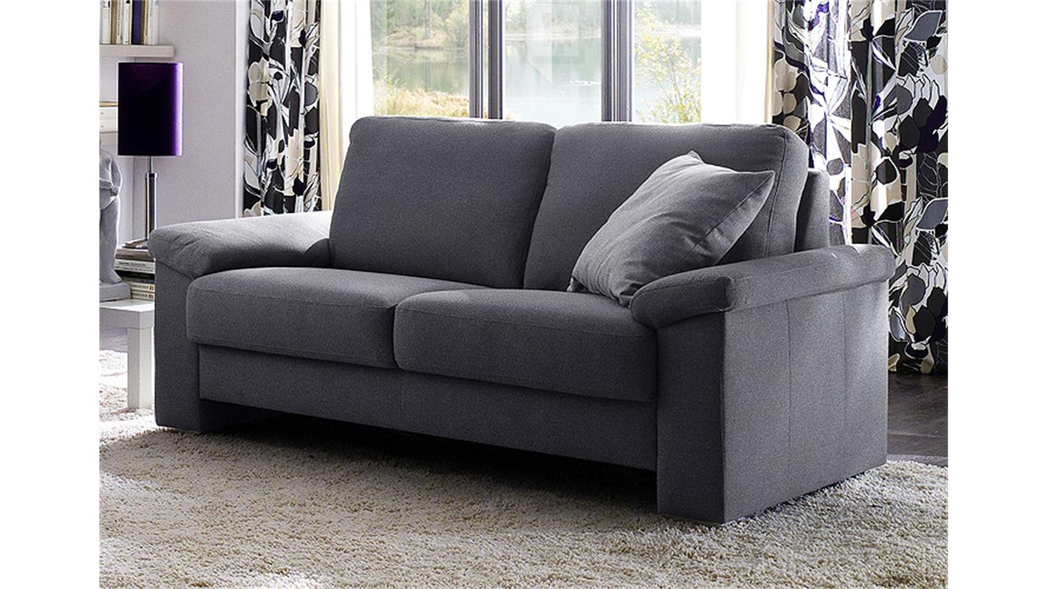 sofa mobile 2 sitzer stoff dunkelgrau breite 182 cm. Black Bedroom Furniture Sets. Home Design Ideas
