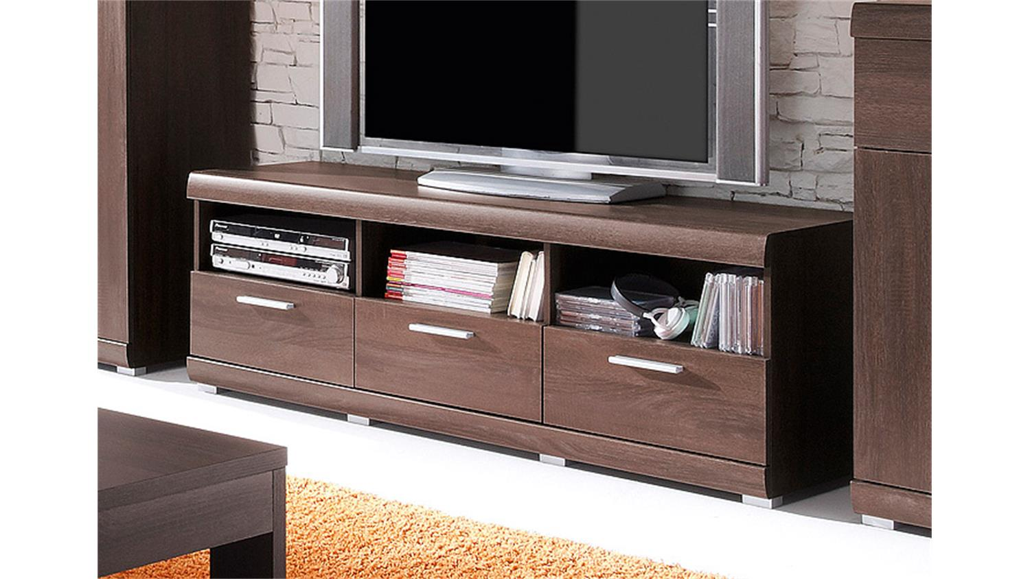 tv board mestre lowboard unterschrank in sonoma eiche. Black Bedroom Furniture Sets. Home Design Ideas