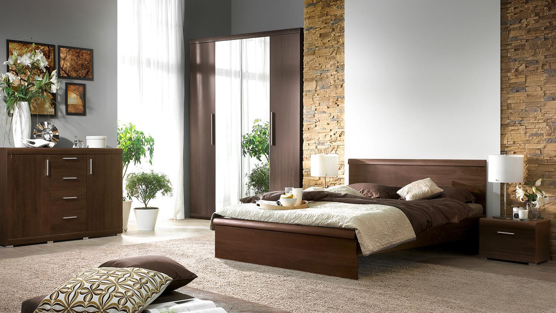 futonbett mestre bett in eiche sonoma dunkel 180x200 cm. Black Bedroom Furniture Sets. Home Design Ideas
