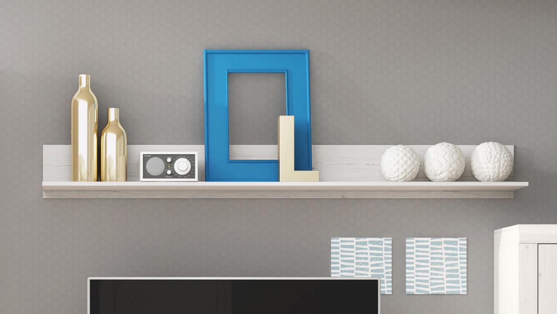 wandboard monica ii wandregal regal in anderson pine wei. Black Bedroom Furniture Sets. Home Design Ideas