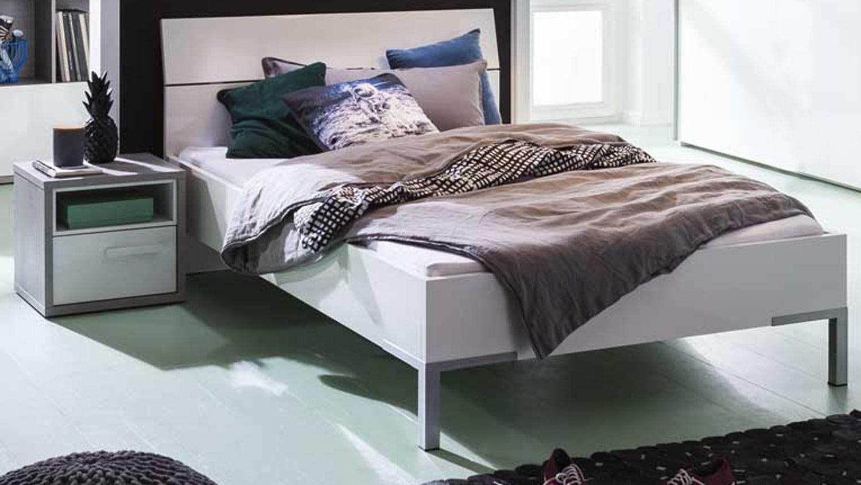 jugendzimmer set mipiace hochglanz wei beton dekor 6 teilig. Black Bedroom Furniture Sets. Home Design Ideas