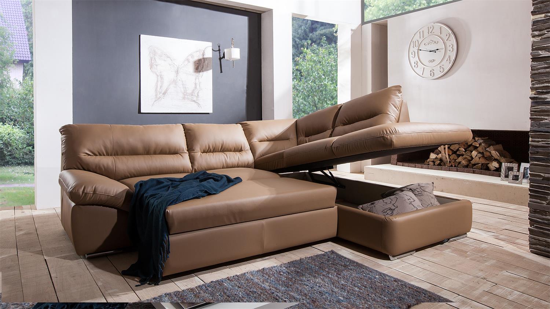 polsterecke braun cotta polsterecke braun recamiere links mit jetzt bestellen with polsterecke. Black Bedroom Furniture Sets. Home Design Ideas