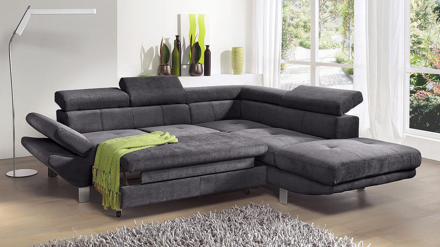ledersofa anthrazit. Black Bedroom Furniture Sets. Home Design Ideas