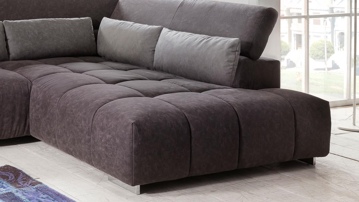ecksofa aksis wohnlandschaft sofa polstersofa in braun. Black Bedroom Furniture Sets. Home Design Ideas