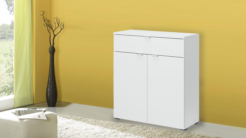 kommode mehrzweckschrank compleo in wei von cs schmal. Black Bedroom Furniture Sets. Home Design Ideas