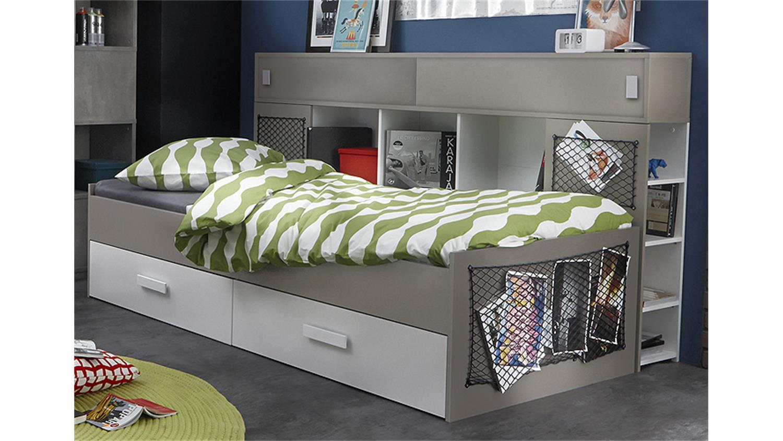 polsterbett maria grau 120 x 200 cm lederimitat inkl. Black Bedroom Furniture Sets. Home Design Ideas