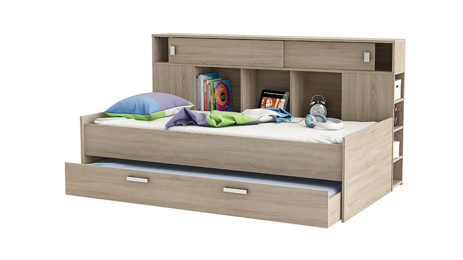 kinderbett mit bettkasten ihr traumhaus ideen. Black Bedroom Furniture Sets. Home Design Ideas