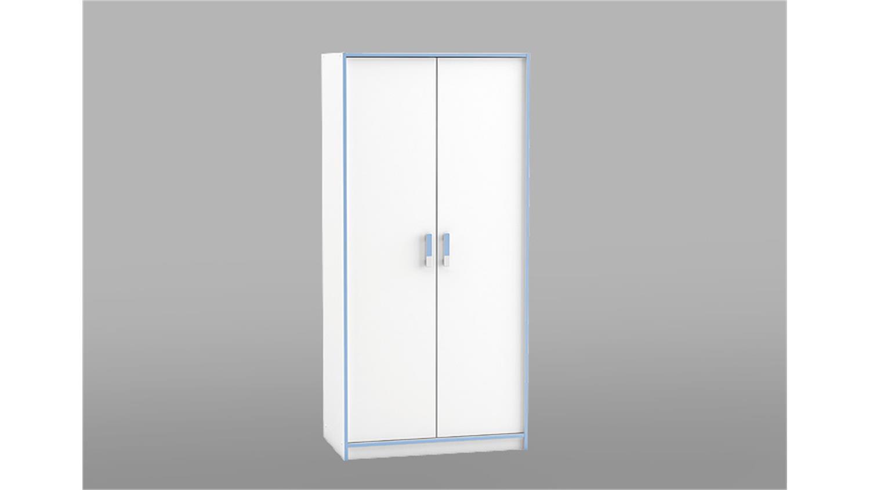 kleiderschrank switch schrank in wei rosa oder blau 88 cm. Black Bedroom Furniture Sets. Home Design Ideas