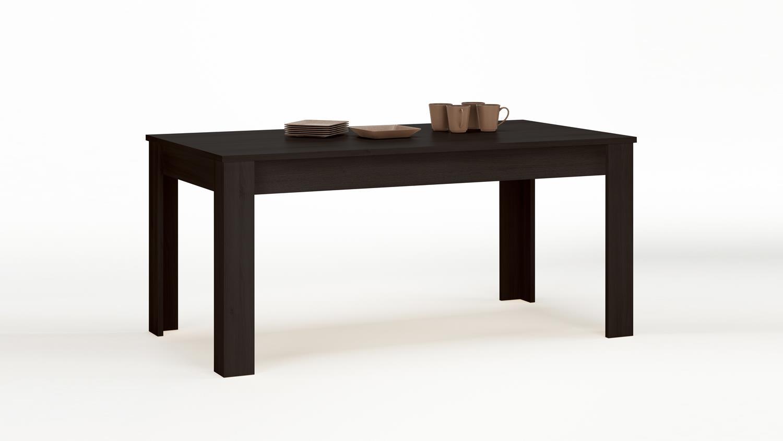 Esstisch rubis tisch esszimmertisch ebenholz braun 90x170 for Esstisch tisch