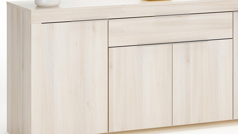 Anrichte rubis sideboard kommode schrank in akazie for Schrank kommode