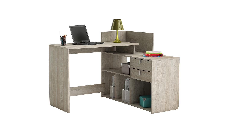 eckschreibtisch vista schreibtisch pc tisch shannon eiche. Black Bedroom Furniture Sets. Home Design Ideas