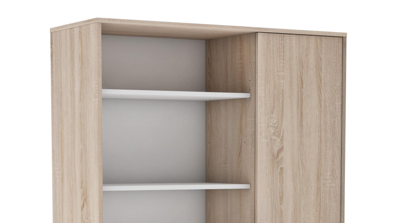 mehrzweckschrank 1 sugar schrank highboard regal in sonoma. Black Bedroom Furniture Sets. Home Design Ideas