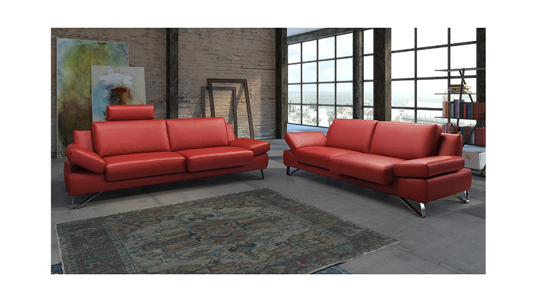 Wunderbar Sofa Garnitur 3 Teilig Leder Foto Von Sofagarnitur Finest In Kaminrot Funktionen