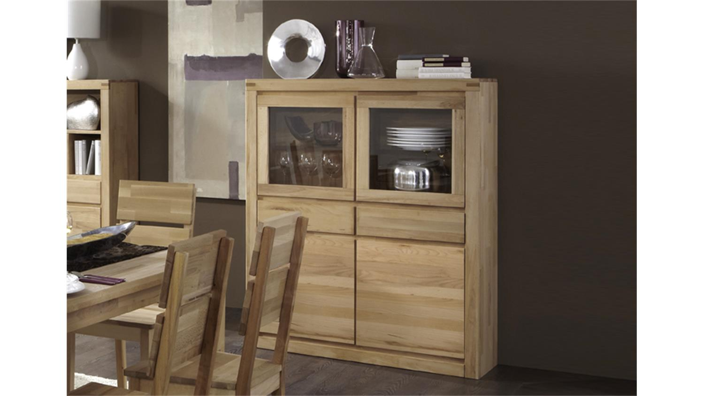 vitrine delft 6215 kernbuche massiv oberfl che ge lt. Black Bedroom Furniture Sets. Home Design Ideas