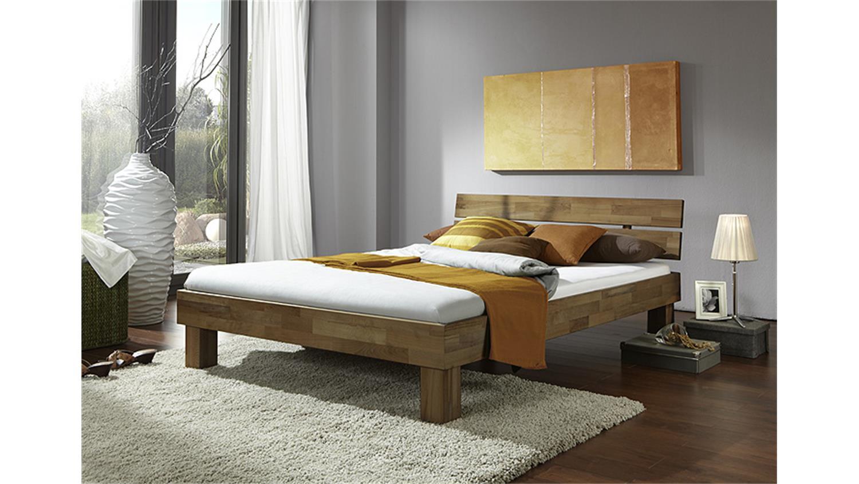 futonbett jenny wildeiche massiv ge lt 100x200 mit kopfteil. Black Bedroom Furniture Sets. Home Design Ideas