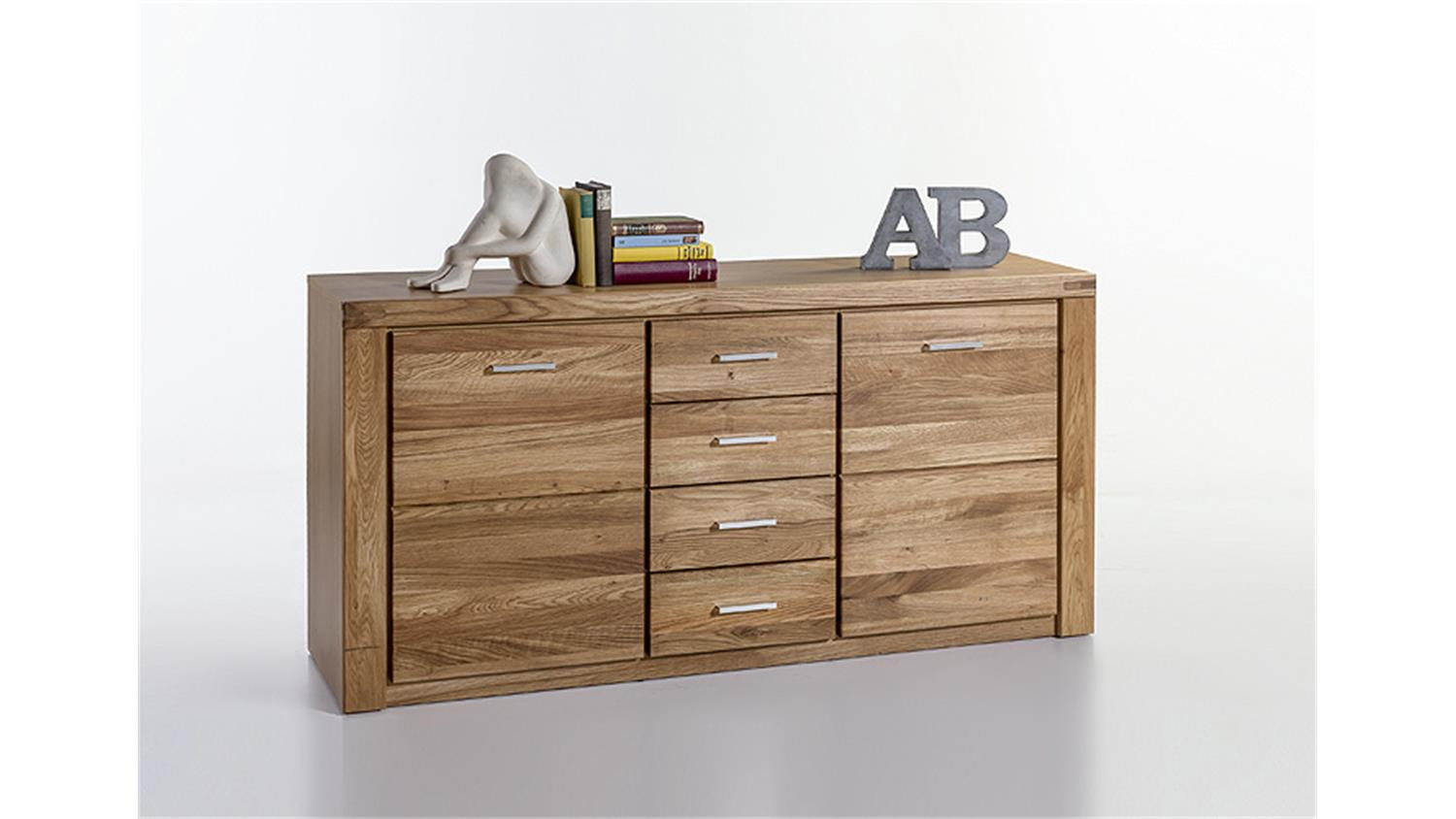sideboard tabea kommode anrichte wildeiche teil massiv. Black Bedroom Furniture Sets. Home Design Ideas