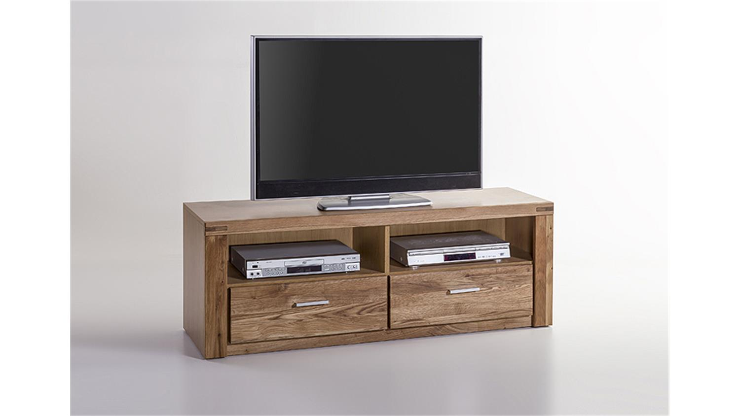 tv kommode tabea tv board lowboard in wildeiche teil massiv. Black Bedroom Furniture Sets. Home Design Ideas