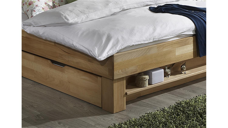 futonbett judith kernbuche massiv ge lt 100x200. Black Bedroom Furniture Sets. Home Design Ideas
